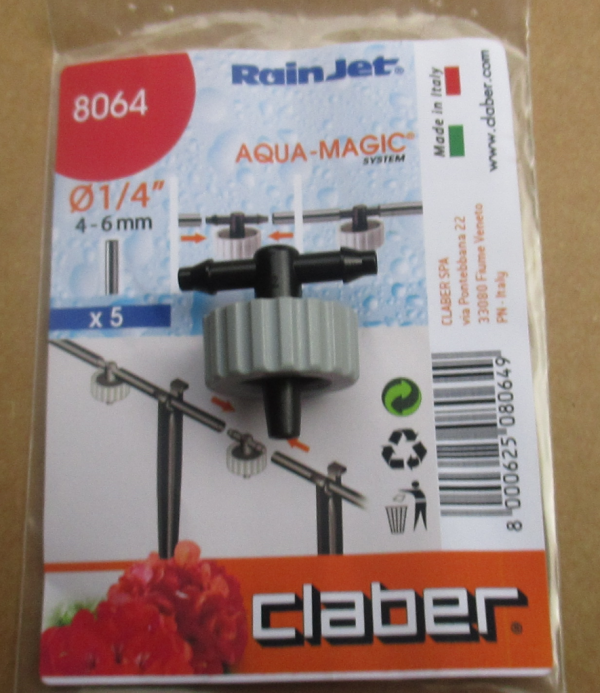 Claber 8064 - Spare Drippers, packet of 5